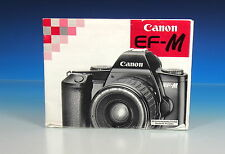 Canon EF-M Bedienungsanleitung german manual - (101344)