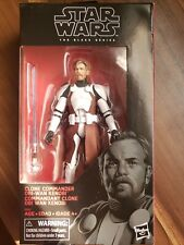 Star Wars Black Series Clone Commander Obi Wan Kenobi