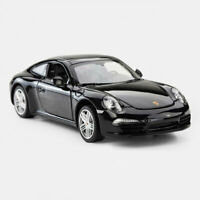 1:24 Porsche 911 Carrera S Coupe Model Car Diecast Vehicle Black Collection Gift