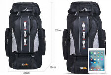 Extra Large XXL Travel Hiking Camping Rucksack Backpack Waterproof Sport Outdoor