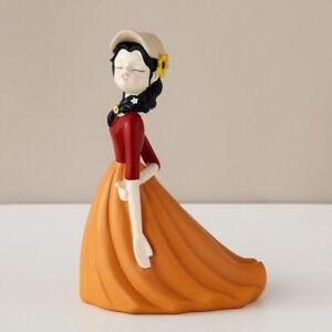 Moden Gorgeous Girl Resin Art Statue Gift Fairy Accessori Fashion Style Sculptur
