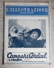 L'ILLUSTRAZIONE ITALIANA n.39  30 09 1941 Raduno Nazionale Bersaglieri Milano