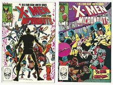 The X-Men and the Micronauts #1 2 3 4 Complete Set Marvel 1983 VF-NM New Mylars