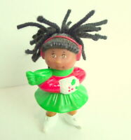 Cabbage Patch Kids CPK McDonald's Christmas Doll Ice Skater Red Green  1992