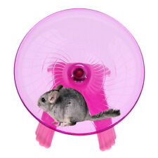 Running Disc Wheel Flying Saucer Exercise Toy for Pet Rat Hamster Guinea Pig