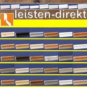 Sockelleiste Fußleisten Bodenleiste Laminat Vinyl MEGA-DEKORE  2,40m