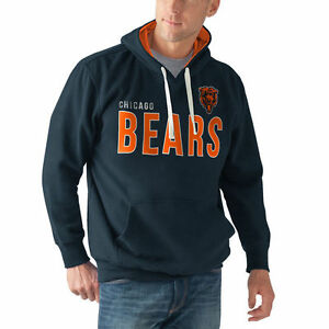 G-III Sports All-Star Pullover Hoodie Sweatshirt NFL Chicago Bears New