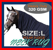 COMFORT I L I HEAVY DUTY I POLAR FLEECE I  HORSE NECK RUG I TOP QUALITY