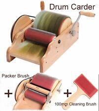 """DRUM CARDER 8"""" ASHFORD for spinning felting carding blending fibre  Brand New"""
