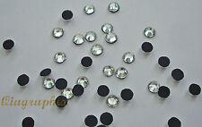 2x 1440 Pcs  Iron On Hotfix Crystal Clear Rhinestones SS20, Grade A , GA20A