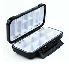 16 Compartment Waterproof Plastic Fishing Lure Bait Hook Tackle Box Case Storage