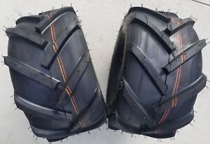 2 - 20x10.00-8 4P PAIR OTR FieldMaster Lug AG Tires 20x10-8 20x10.0-8 Free Ship
