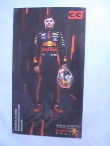 Autogrammkarte Max Verstappen (Red Bull Racing) 2020 F1