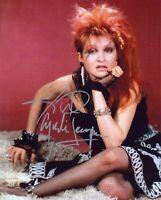 Cyndi Lauper Autographed Signed 8x10 Photo REPRINT