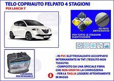 Telo copriauto Lancia Y copri auto felpato impermeabile PVC Taglia S + borsa