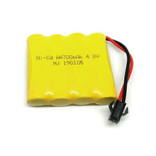 4.8V 700mAh Ni-Cd Rechargeable AA Battery Pack With SM 2P Plug For RC Toys