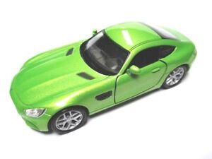 Mercedes Gt Sports Car, Model Car Metal Diecast 11 CM, Welly Nex Model