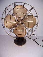 """VINTAGE HUNTER ZEPHAIR 16"""" ELECTRIC OSCILLATING FAN #265 WORKS!"""