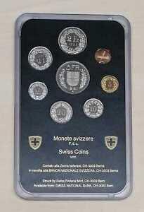 Suisse Série de Monnaie Légale Pièce (8,86 Francs) (Choisissez Entre : 1981-98)