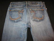Rock & Republic Roth Jeans Bootcut Dark Trick Distressed 26