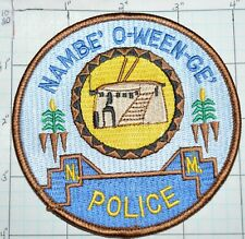 NEW MEXICO, NAMBE' O-WEEN-GE' TRIBAL POLICE PATCH