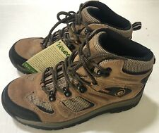 Nevados Men's Boys Sz 6.5 Suede Leather Brown Hiking Boot Women Sz 8.5 New!