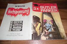 3x  BUTLER PARKER KRIMIs im Zauberkreis-Sammelband # 67 mit # 158 + 169 + 170