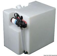 Serbatoio acqua in polietilene assemblato di pompa autoclave 12v doccia 32lt PET