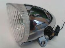 Lampe Oldtimer Mifa Diamant Fahrrad Stahl verchromt inklusive Lichtleitung
