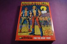 Atari 2600 7800 Double Dragon Boxed ACTIVISION PAL - MINT UK STOCK