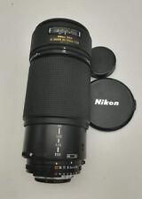 Zoom Nikon AF 80 200 mm f 2.8 ED fotografia