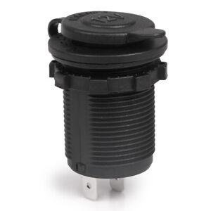 12V Waterproof Motorcycle Car Boat Cigarette Lighter Socket Power Plug Outlet