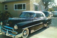 California Classic Car FOUND PHOTO Color Original Snapshot VINTAGE 97 12 ZZ