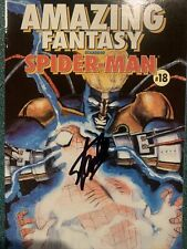 Marvel Amazing Fantasy Starring Spider-man #18 96 Stan Lee Signed Autograph Coa