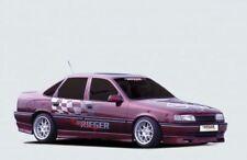 Rieger Spoilerlippe   ab Bj. 93 ->, nicht für Modell 2000! Opel Vectra A Stufenh