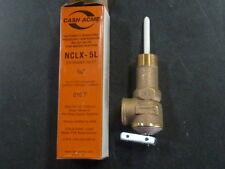 """NEW Cash Acme 18821-0150 3/4"""" NCLX-5L T&P Relief Valve 150#  2-3/32"""" Shank"""