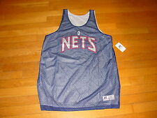 NBA BROOKLYN NETS Basketball Practice Jersey REVERSIBLE  Shirt  NEW .sz..  LARGE