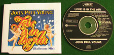 JOHN PAUL YOUNG.LOVE IS IN THE AIR..RARE ALBERT PRODUCTIONS 1992 SINGLE 658085 2