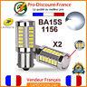 2 x ampoule 33 LED BA15S 1156 P21W BLANC XENON VOITURE Feux Recul / Jour SMD