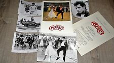 GREASE j travolta  dossier scenario presse cinema dance 1978 + photos presse