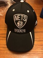 Brooklyn Nets NEW Hat Cap Small Medium Men's Adidas NBA Mens Black