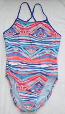 Women's Nike Swim Rio Gio Modern Lingerie Tank One Piece Swim Suit Size 40/14