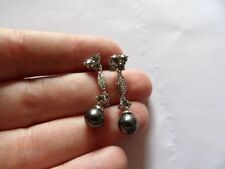 Lab-Created/Cultured Pearl Alloy Costume Earrings