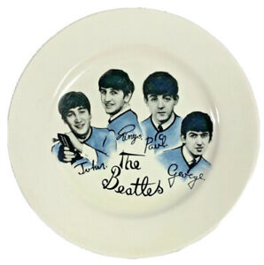 """8"""" Old Style The Beatles Porcelain Collector's Plate - Liverpool."""