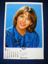 1984 Sophie Marceau Japan VINTAGE calendar POSTER VERY RARE