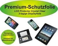 Premium-Schutzfolie 3lagig kratzfest LG Optimus 3D P920