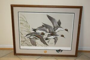 """Art LaMay """"Spring Time"""" Limited Edition Duck Unlimited"""