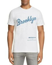 NEW MENS JUNK FOOD ELECTRIC WHITE BROOKLYN GRAPHIC T-SHIRT SIZE XL