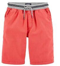 OshKosh BGosh Boys Pull-on Shorts - Coral