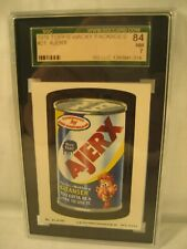 1979 TOPPS WACKY PACKAGES AJERX SGC 7 GRADED